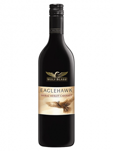 Wolf Blass Eaglehawk Shiraz Merlot Cabernet case of 6 or £6.49 per bottle
